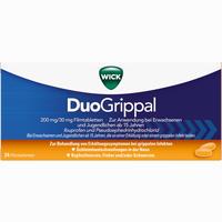 Abbildung von Wick Duogrippal 200mg/30mg Filmtabletten  24 Stück