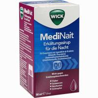 Abbildung von Wick Medinait Erkältungssirup für die Nacht  90 ml