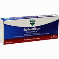 Abbildung von Wick Schleimlöser 30mg Tabletten  20 Stück
