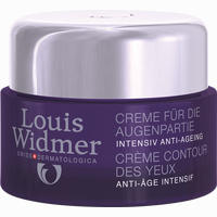 Widmer Creme Für Augenpartien Unparfümiert  30 ml