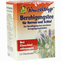 Wurzelsepp Beruhigungstee Bio  Filterbeutel 15 Stück