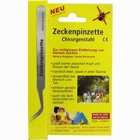 Zeckenpinzette-Chirurgenstahl 1 ST