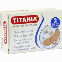 Zehenspreizer Aus Gel Titania 2 ST