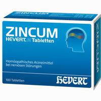 Zincum Hevert N Tabletten   100 Stück