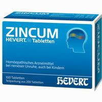Zincum Hevert N Tabletten   200 Stück