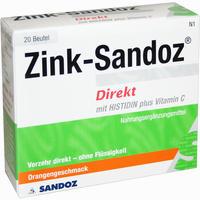 Zink Sandoz Direkt  Beutel 20 Stück
