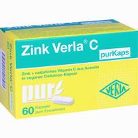 Abbildung von Zink Verla C Purkaps Kapseln 60 Stück