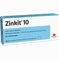 Abbildung von Zinkit 10 Dragees 20 Stück
