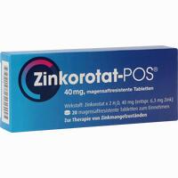 Abbildung von Zinkorotat Pos Tabletten 20 Stück