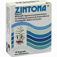 Abbildung von Zintona Kapseln 10 Stück