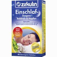 Zirkulin Einschlaf-dragees Baldrian & Hopfen   40 Stück