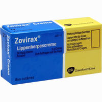 Zovirax Lippenherpes Creme   Emra-med 2 g