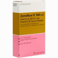 Abbildung von Zymafluor D 500 C.c. Tabletten 90 Stück