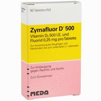 Zymafluor D 500  Tabletten 90 Stück