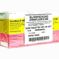 Zymafluor D 500  Tabletten 3X300 Stück