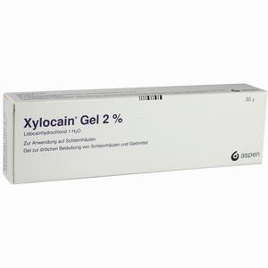 Xylocain 2% Gel » Informationen und Inhaltsstoffe