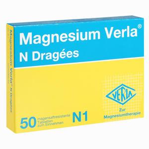 magnesium verla n dragees informationen und inhaltsstoffe. Black Bedroom Furniture Sets. Home Design Ideas