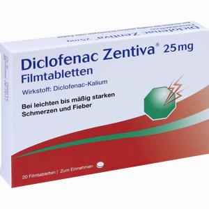Diclofenac Zentiva 25 Mg Filmtabletten » Informationen und ...
