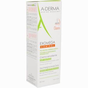 Abbildung von A- Derma Exomega Control Geschmeidigmachende Creme 200 ml