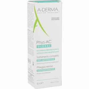 Abbildung von A- Derma Phys- Ac Global Pflegecreme 40 ml