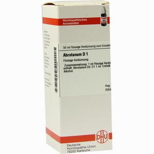 Abbildung von Abrotanum D 1 Dilution 50 ml