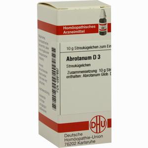 Abbildung von Abrotanum D3 Globuli 10 g