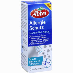 Abbildung von Abtei Allergie Schutz Nasen- Gel- Spray  20 ml
