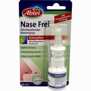 Abbildung von Abtei Nase Frei Abschwellendes Spray Nasenspray 20 ml