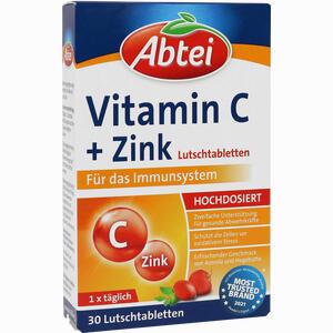 Abbildung von Abtei Vitamin C Plus Zink 30 Stück