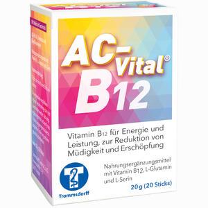 Abbildung von Ac- Vital B12 Direktsticks mit Eiweißbausteinen Beutel 20 Stück