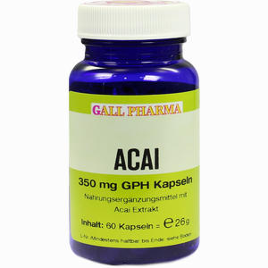 Abbildung von Acai 350 Mg Gph Kapseln  60 Stück