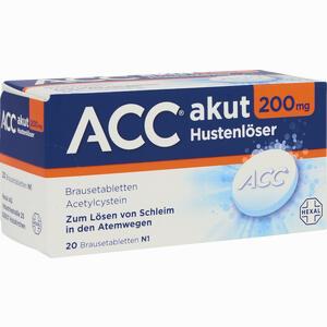 Abbildung von Acc Akut 200 Brausetabletten 20 Stück