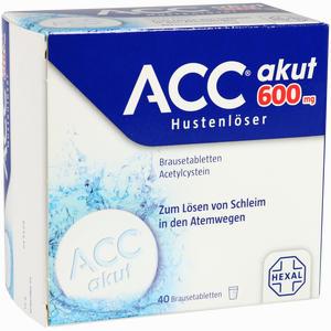 Abbildung von Acc Akut 600 Hustenlöser Brausetabletten  40 Stück
