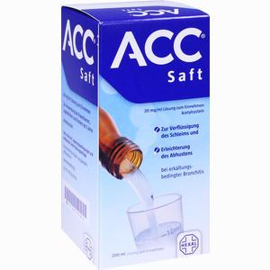 Abbildung von Acc Saft 20 Mg/ml Lösung Zum Einnehmen  200 ml