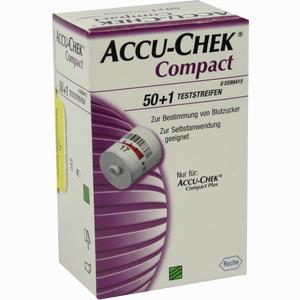 Abbildung von Accu- Chek Compact Teststreifen  50 Stück