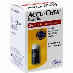 Abbildung von Accu- Chek Fastclix Lanzetten  24 Stück