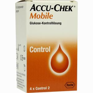 Abbildung von Accu- Chek Mobile Kontrolllösung  1 x 4 Stück