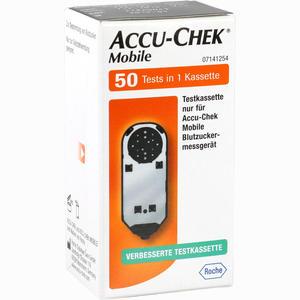 Abbildung von Accu- Chek Mobile Testkassette Teststreifen 50 Stück