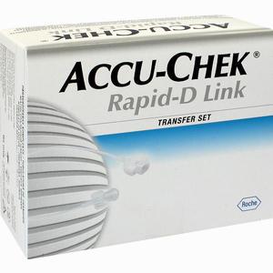 Abbildung von Accu Chek Rapid D Link Transfer Set mit 70cm Katheter 10 Stück