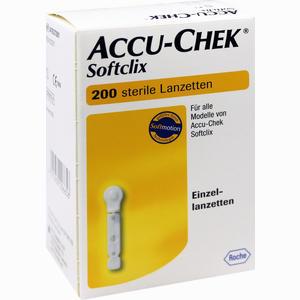 Abbildung von Accu- Chek Softclix Lanzetten  200 Stück