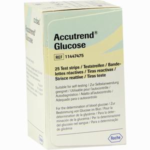 Abbildung von Accutrend Glucose Teststreifen 25 Stück