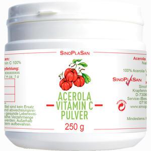 Abbildung von Acerola Vitamin C 1000 Mg 100 % Pulver 250 g