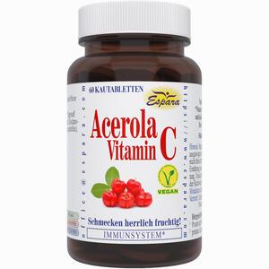 Abbildung von Acerola Vitamin C Kapseln 60 Stück
