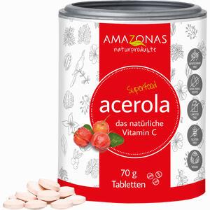 Abbildung von Acerola Vitamin C Ohne Zuckersusatz Lutschtabletten  70 g