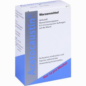 Abbildung von Acetocaustin Lösung 0.5 ml