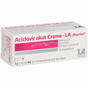 Abbildung von Aciclovir Akut Creme - 1a- Pharma  2 g