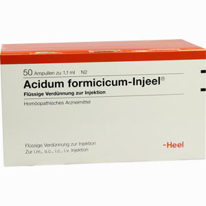 Abbildung von Acidum Formic Inj Ampullen 50 Stück
