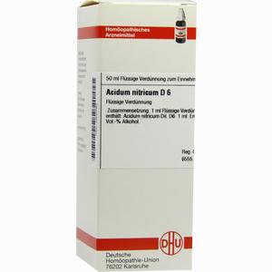 Abbildung von Acidum Nitr D6 Dilution 50 ml
