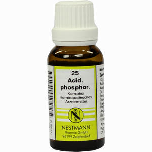 Abbildung von Acidum Phos Kompl Nestm 25 Dilution 20 ml