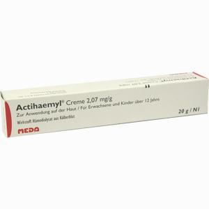 Abbildung von Actihaemyl Creme  20 g